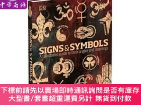 二手書博民逛書店罕見原版 DK符號與象征 英文原版 DK-Signs & Symbols 科普與Y454646 Miranda