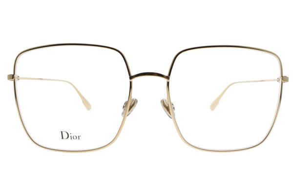 Dior 光學眼鏡 STELLAIREO1 J5G (金) 全球熱銷方框款 #金橘眼鏡