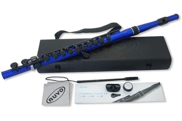 小叮噹的店- 長笛 英國 Nuvo Student Flute Kit 塑膠長笛 N235