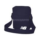 New Balance 斜背包 Mini Shoulder Bag 藍 白 男女款 外出 隨身小包 【ACS】 BG03080GNW