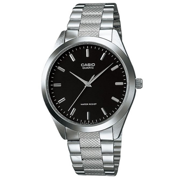 【CASIO】 時尚簡約商務指針錶-羅馬黑面(MTP-1274D-1A)