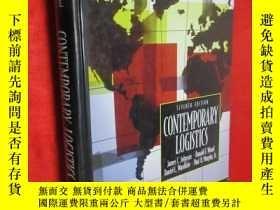 二手書博民逛書店Contemporary罕見Logistics (16開,硬精裝