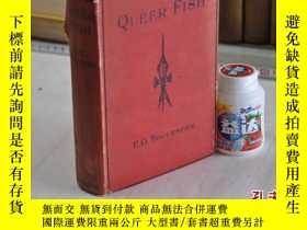 二手書博民逛書店1925年,英文原版,精裝插圖,QUEER罕見FISHY1647