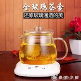 保溫耐熱玻璃花茶具套裝茶壺配電加熱恒溫寶過濾泡茶壺紅茶壺