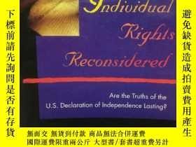 二手書博民逛書店公民個人權利再思考罕見Individual Rights Rec