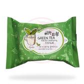 韓國 esfolio 綠茶溫和卸妝紙巾(20抽)【小三美日】