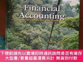 二手書博民逛書店【外文原版】罕見Financial Accounting : Information for Decisions