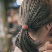 【TwinS伯澄】《復古宮廷風鈕扣髮束》韓國髮飾髮圈橡皮筋扎馬尾簡約氣質上班族基本款