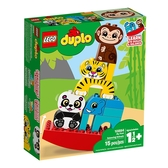 LEGO 樂高 Duplo 得寶系列 10884 我的第一套動物疊疊樂 【鯊玩具Toy Shark】