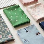 可愛手絹小清新手帕棉質女式大方巾