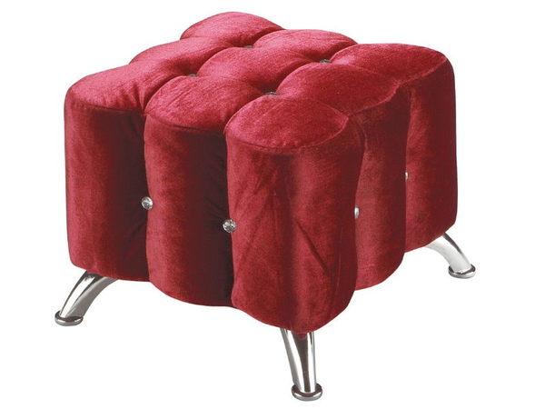 椅子 CV-333-5 水鑽紅色小椅【大眾家居舘】