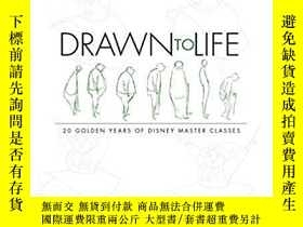 二手書博民逛書店Drawn罕見to Life: 20 Golden Years