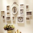 實木照片牆客廳裝飾 相片背景牆創意連體組合相框【店長推薦】  快速出貨
