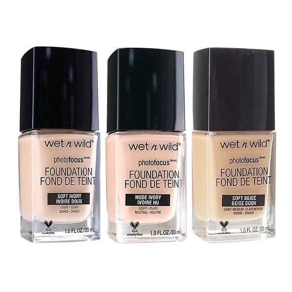 Wet N Wild 完美上相打光粉底液(30ml) 款式可選【小三美日】