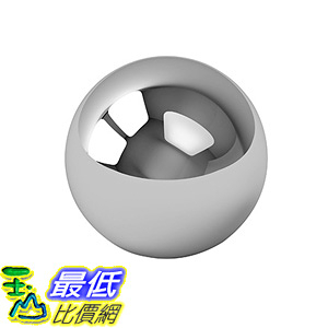 [106美國直購] One Large 4 Inch Chrome Solid Steel Bearing Ball G100