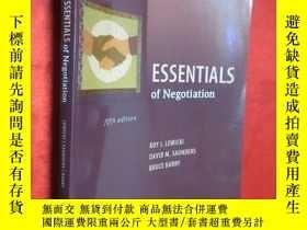 二手書博民逛書店Essentials罕見of Negotiation (16開)