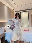 夏季款維密天絲提花緞薄款性感睡袍女用長款酒店日式高級感浴袍女