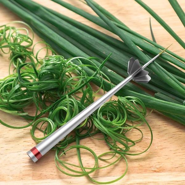 切菜機 梅花蔥絲刀超細切蔥絲神器越南廚房商用刨蔥花擦絲刀多功能切菜器【幸福小屋】