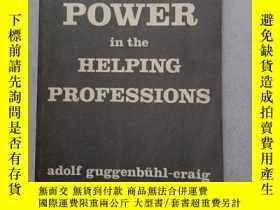 二手書博民逛書店POWER罕見IN THE HELPING PROFESSIONSY10445 Adolf Guggenbuh
