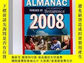 二手書博民逛書店Time:罕見Almanac 2008 英文原版-《時代:200