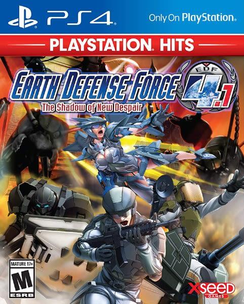 PS4 地球防衛軍 4.1 新絕望之影(Hits)(美版代購)