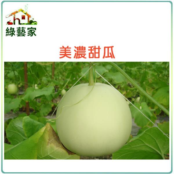 【綠藝家】I03.美濃甜瓜種子15顆