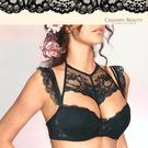 ●勾勒細膩性感蕾絲顯現不凡品味●胸前綴飾的釦飾增加俏麗活潑