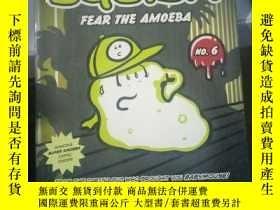 二手書博民逛書店Squish罕見#6: Fear the Amoeba 9780