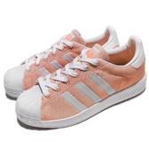 【海外限定】adidas 休閒鞋 Superstar Bounce W 橘 白 回彈中底 運動鞋 女鞋【PUMP306】 BZ0635