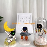 微型小顆粒拼裝益智玩具積木兼容兒童拼圖太空宇航員禮物