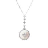 【APM Monaco】Eternelle系列星星與白母貝項鍊(銀色) AC3965XNA