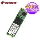 【Transcend 創見】MTS820 M.2 480G固態硬碟