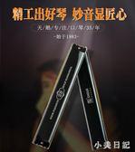 口琴高級成人28孔復音重音專業天鵝初學者C調演奏級 aj5613『小美日記』