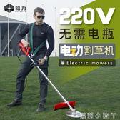 割草機家用大功率交流電動草坪除草機打草機插電式園林剪草機 igo220v蘿莉小腳ㄚ
