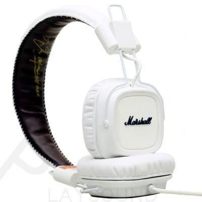【降!原價$3650元】MARSHALL Major 白色 通話 頭戴式耳機