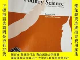 二手書博民逛書店Poultry罕見Science Volume95, Numbe