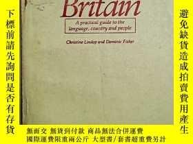 二手書博民逛書店DISCOVER罕見Britain A practical guide to the language, coun