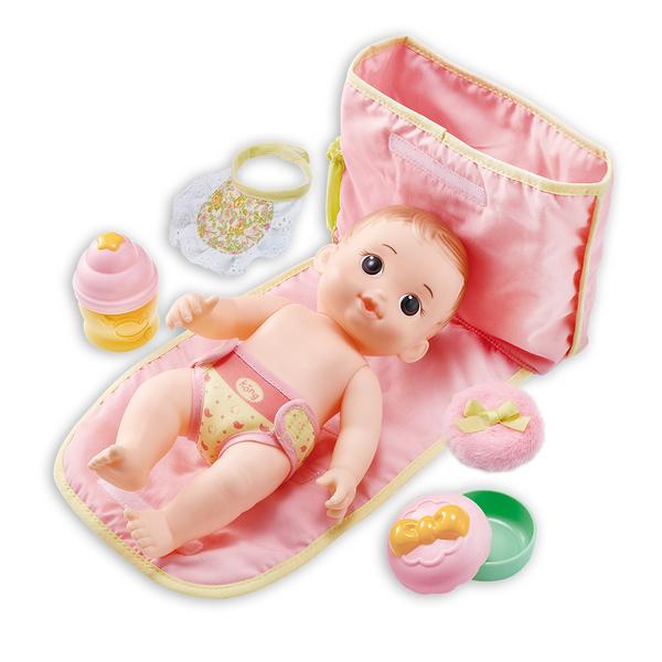 KONGSUNI 小荳娃娃 可可妹妹尿布組_YT31061