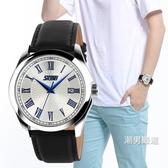 手錶男初中學生電子石英錶青少年防水夜光男錶高中男孩正韓手錶潮