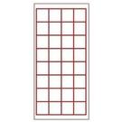 《享亮商城》P-006-2800-3  28格-手工宣A級比賽用紙  0954