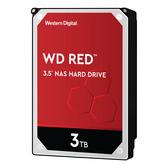 WD 3TB 紅標 3.5吋 快取256M 轉速5400RPM 3.5吋 內接式 電腦 硬碟 ( WD30EFAX )