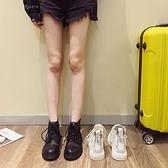 短靴 馬丁靴女網靴時尚百搭網紗透氣休閒機車靴-Ballet朵朵