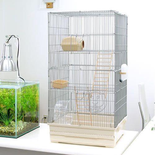 【培菓幸福寵物專營店】   日本IRIS《抽屜式》蜜袋鼯/松鼠籠(LG-L)