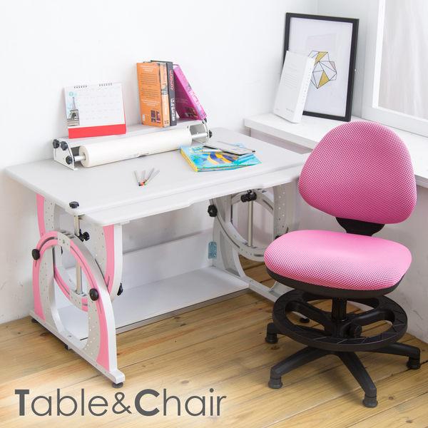 【時尚屋】[2X6]溫德爾兒童伸縮成長書桌椅組DF-100+411S可選色/免運費/台灣製/兒童書桌