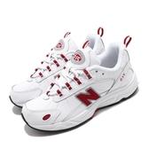 New Balance 休閒鞋 NB 615 白 紅 女鞋 運動鞋 老爹鞋 【ACS】 ML615NWRD