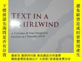 二手書博民逛書店Text罕見in a Whirlwind: A Critique