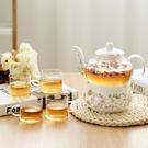 陶瓷花茶壺 (不含杯)