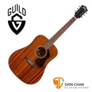 Guild 美國吉他品牌 Guild D-320 桃花心木面單板 / 桃花心木側背板 附 Guild 吉他厚袋 台灣公司貨 D320