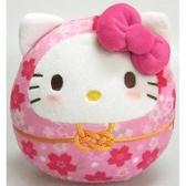 【凱蒂貓達摩娃娃】凱蒂貓 櫻花 新年 達摩娃娃 粉 日本正品 該該貝比日本精品
