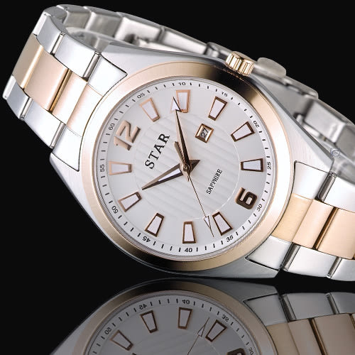 STAR 時代 永恆時光紳士腕錶 9T1602-231RG-W